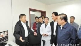 副省长秦如培、卫生厅厅长等莅临我科指导工作