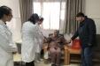贵州省委老干部局领导春节前来院看望慰问住院的离退休干部