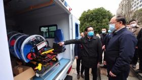 我院增加3辆负压救护车,提升抗疫服务能力