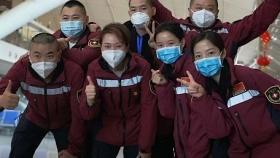 昨晚!貴州省第三批援鄂醫療隊部分隊員抵達貴陽北站