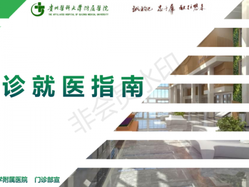 贵州医科大学附属医院就诊指南