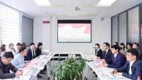 中国科学院上海药物研究所所长李佳一行来院考察交流